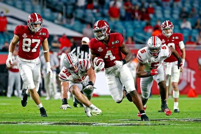 Alabama at Miami 9/4/21 College Football Picks and Predictions