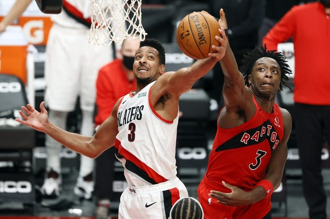 Portland Trail Blazers at Toronto Raptors - 3/28/21 NBA Picks and Prediction