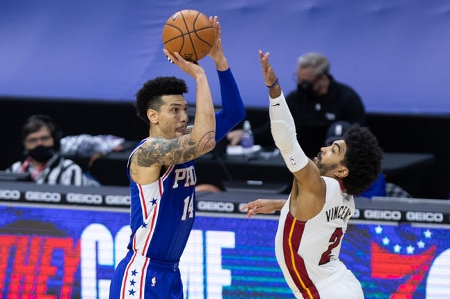 Philadelphia 76ers vs Miami Heat NBA Picks, Odds, Predictions 1/14/21
