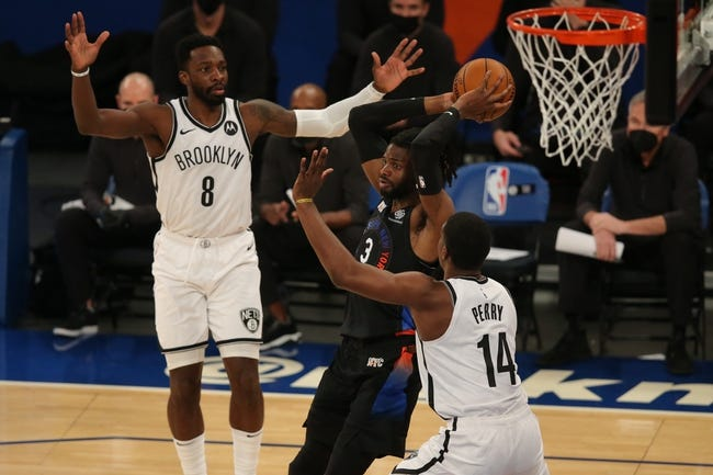 Brooklyn Nets vs New York Knicks NBA Picks, Odds, Predictions 3/15/21