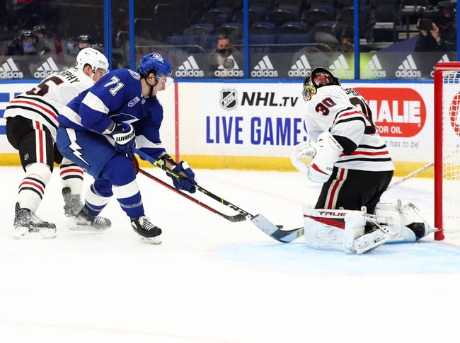 Chicago Blackhawks at Tampa Bay Lightning - 1/15/21 NHL Picks and Prediction