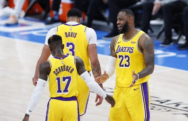 Los Angeles Lakers vs New Orleans Pelicans NBA Picks, Odds, Predictions 1/15/21