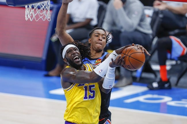 Lakers vs thunder betting prediction aiding and abetting law in california