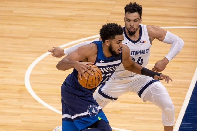 Memphis Grizzlies vs Minnesota Timberwolves NBA Picks, Odds, Predictions 4/2/21
