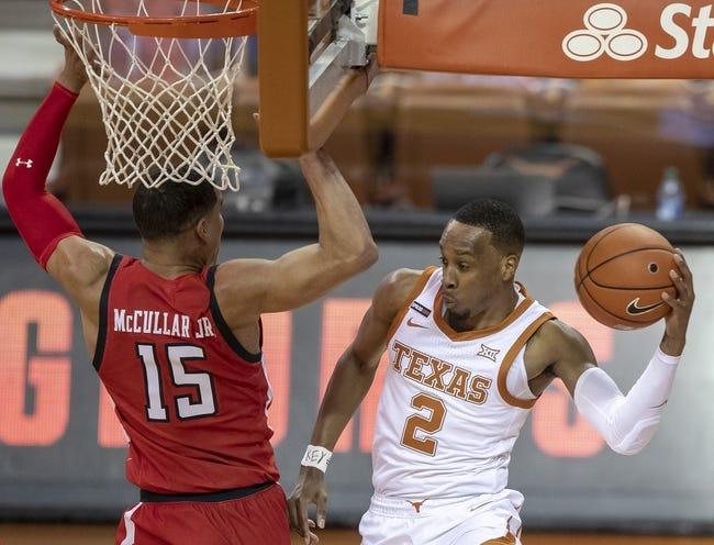 Texas  at Texas Tech  - 2/27/21 College Basketball Picks and Prediction