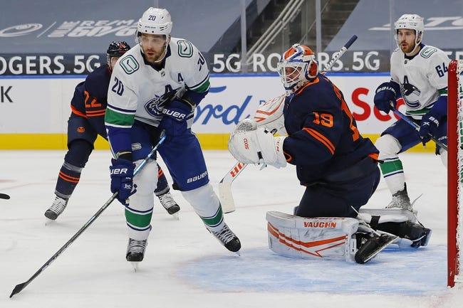 Edmonton Oilers vs Vancouver Canucks NHL Picks, Odds, Predictions 1/14/21