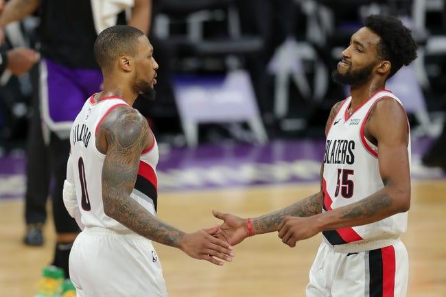 Sacramento Kings at Portland Trail Blazers - 3/4/21 NBA Picks and Prediction