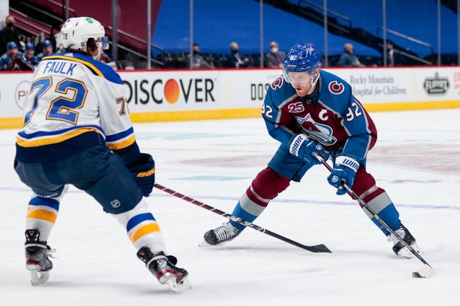 St. Louis Blues at Colorado Avalanche - 1/15/21 NHL Picks and Prediction