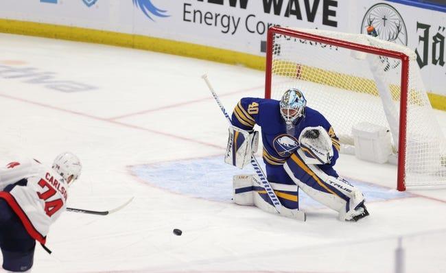 Washington Capitals at Buffalo Sabres - 1/15/21 NHL Picks and Prediction
