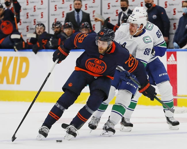 Edmonton Oilers at Vancouver Canucks - 2/23/21 NHL Picks and Prediction
