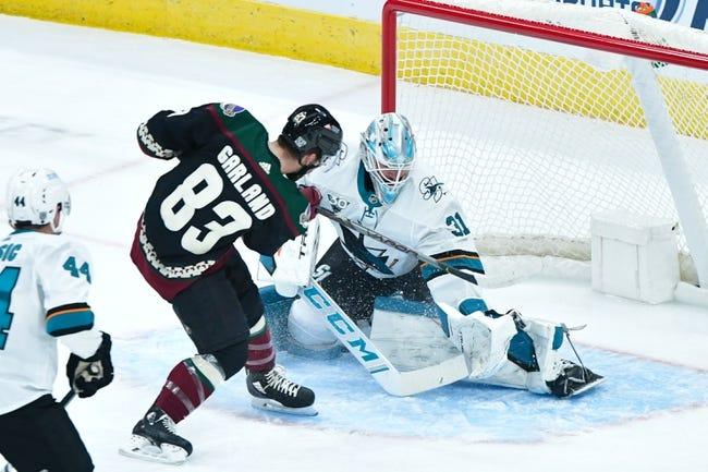 San Jose Sharks at Arizona Coyotes - 1/16/21 NHL Picks and Prediction