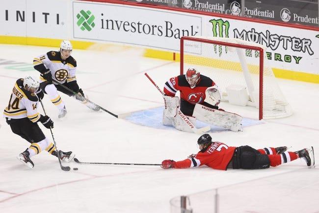 Boston Bruins at New Jersey Devils - 1/16/21 NHL Picks and Prediction