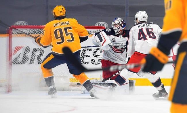 Nashville Predators vs Columbus Blue Jackets NHL Picks, Odds, Predictions 1/16/21