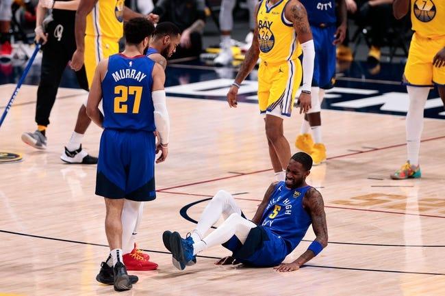Denver Nuggets at Golden State Warriors - 4/12/21 NBA Picks and Prediction