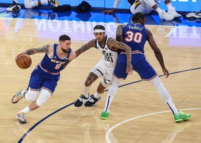 New York Knicks at Utah Jazz - 1/26/21 NBA Picks and Prediction