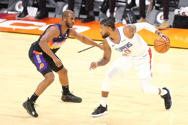 Phoenix Suns at Los Angeles Clippers - 4/8/21 NBA Picks and Prediction