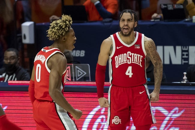 Illinois at Ohio State: 3/6/21 College Basketball Picks and Predictions