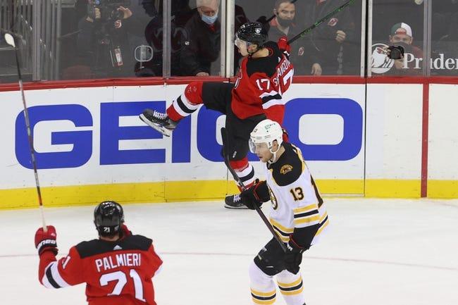 Boston Bruins vs New Jersey Devils NHL Picks, Odds, Predictions 2/18/21