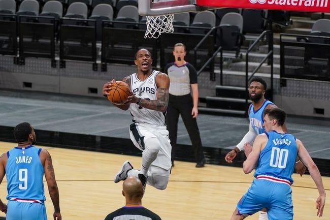 San Antonio Spurs at Houston Rockets - 2/6/21 NBA Picks and Prediction