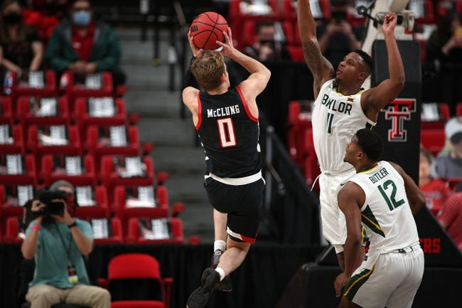 Texas Tech at Baylor 3/7/21 College Basketball Picks and Predictions