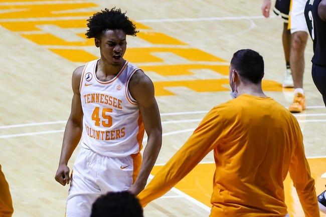 Tennessee at Vanderbilt: 2/24/21 College Basketball Picks and Prediction