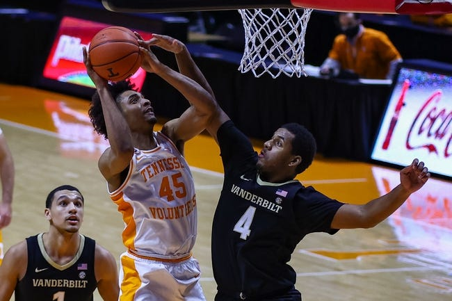 Vanderbilt vs Tennessee College Basketball Picks, Odds, Predictions 2/24/21