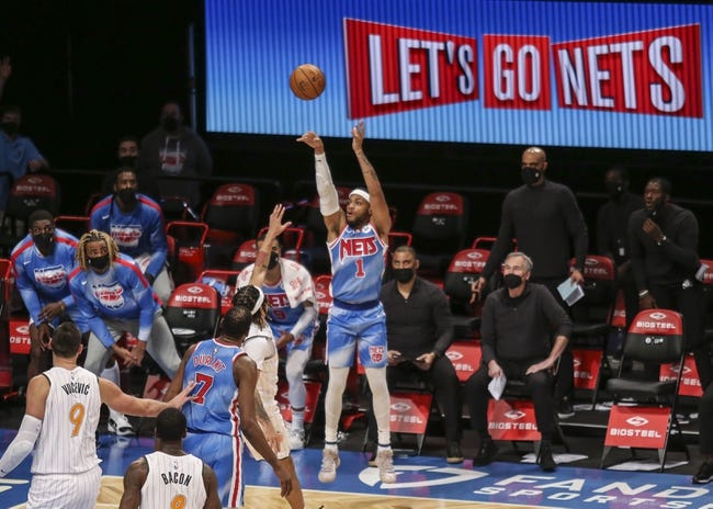 Brooklyn Nets vs Orlando Magic NBA Picks, Odds, Predictions 2/25/21