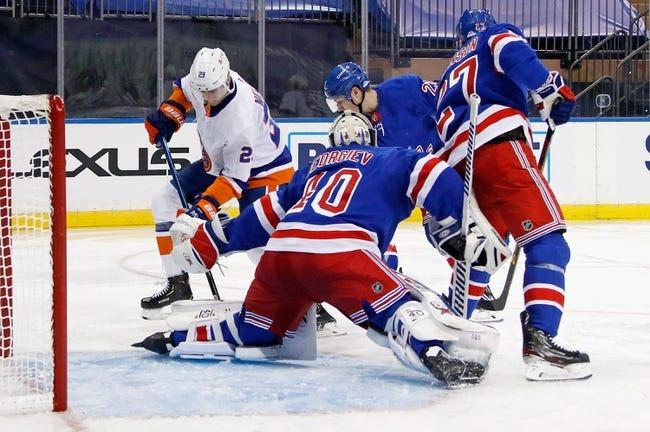 New York Rangers vs New York Islanders NHL Picks, Odds, Predictions 2/8/21