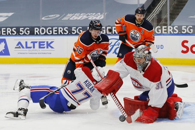 Edmonton Oilers vs Montreal Canadiens NHL Picks, Odds, Predictions 1/18/21
