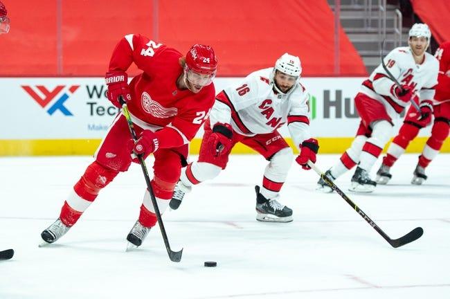 Carolina Hurricanes vs Detroit Red Wings NHL Picks, Odds, Predictions 3/4/21