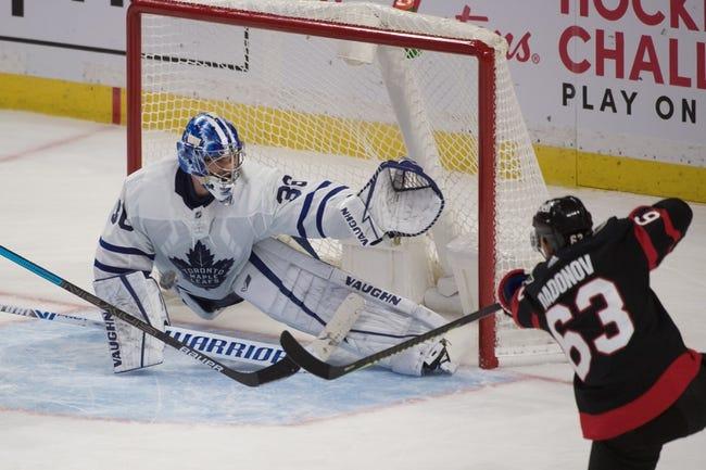 Toronto Maple Leafs vs Ottawa Senators NHL Picks, Odds, Predictions 2/15/21