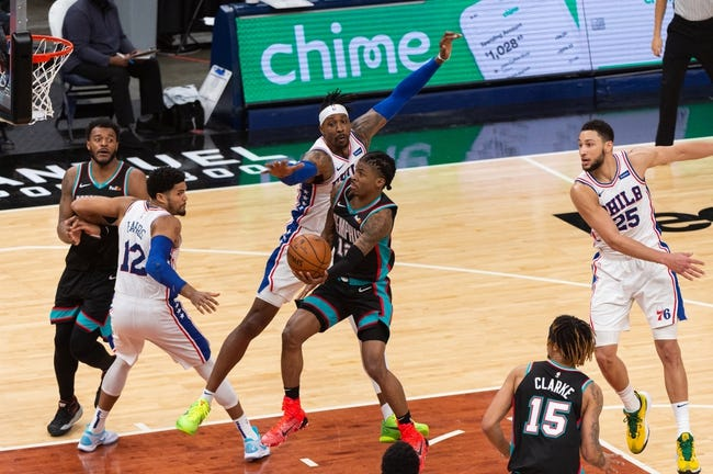 Philadelphia 76ers vs Memphis Grizzlies NBA Picks, Odds, Predictions 4/4/21