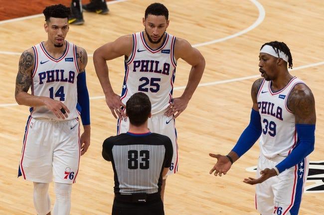 Boston Celtics at Philadelphia 76ers - 1/20/21 NBA Picks and Prediction
