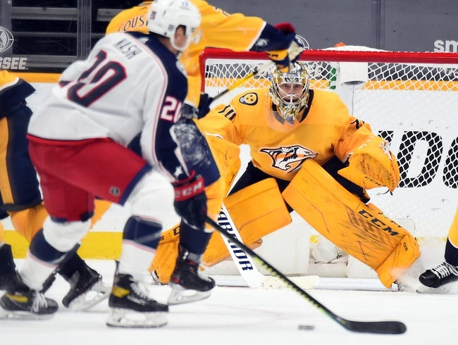 Columbus Blue Jackets vs Nashville Predators NHL Picks, Odds, Predictions 2/18/21