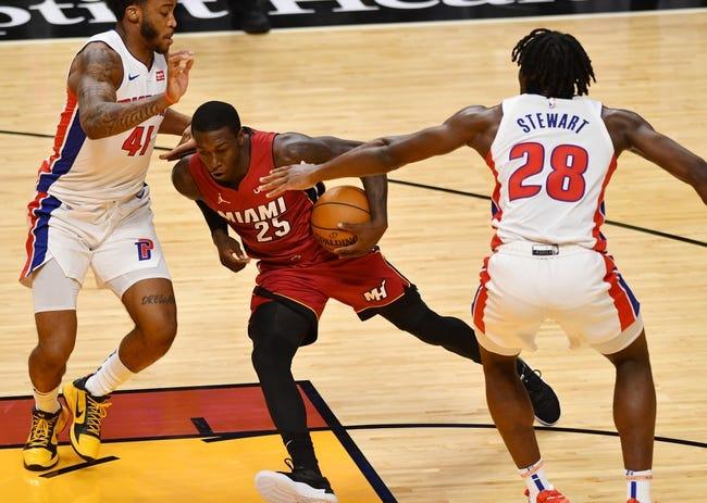 Miami Heat vs Detroit Pistons NBA Picks, Odds, Predictions 1/18/21
