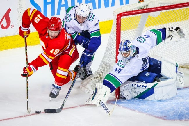 Calgary Flames vs Vancouver Canucks NHL Picks, Odds, Predictions 1/18/21