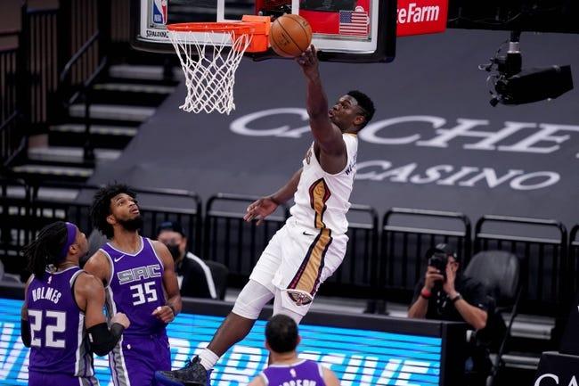 Sacramento Kings at New Orleans Pelicans - 2/1/21 NBA Picks and Prediction