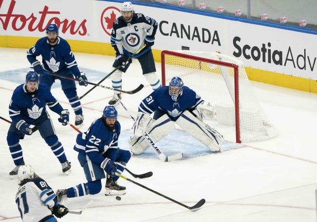 Toronto Maple Leafs vs Winnipeg Jets NHL Picks, Odds, Predictions 3/9/21