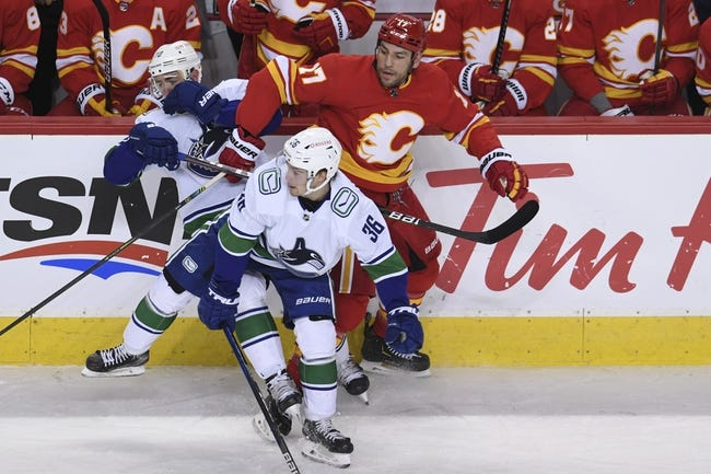 Vancouver Canucks vs Calgary Flames NHL Picks, Odds, Predictions 2/11/21