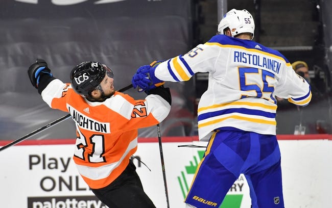 Buffalo Sabres vs Philadelphia Flyers NHL Picks, Odds, Predictions 2/27/21