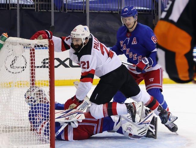New York Rangers vs New Jersey Devils NHL Picks, Odds, Predictions 2/16/21