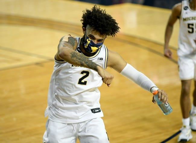 Maryland at Michigan: 3/12/21 College Basketball Picks and Predictions