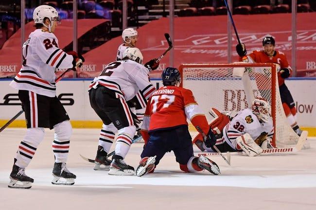 Florida Panthers vs Chicago Blackhawks NHL Picks, Odds, Predictions 3/13/21