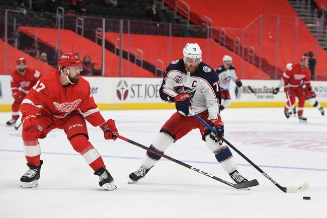 Columbus Blue Jackets vs Detroit Red Wings NHL Picks, Odds, Predictions 3/2/21
