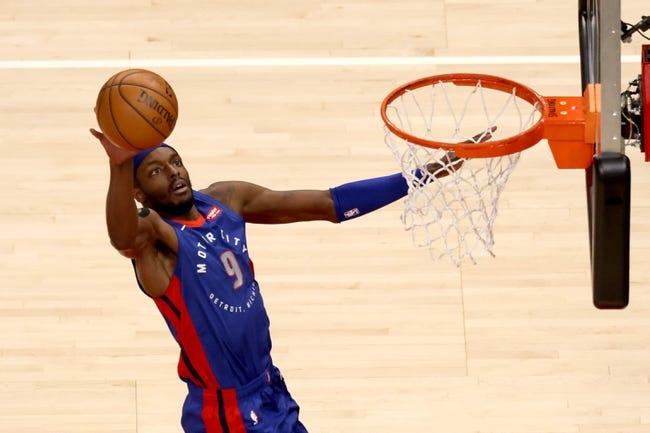Houston Rockets at Detroit Pistons - 1/22/21 NBA Picks and Prediction