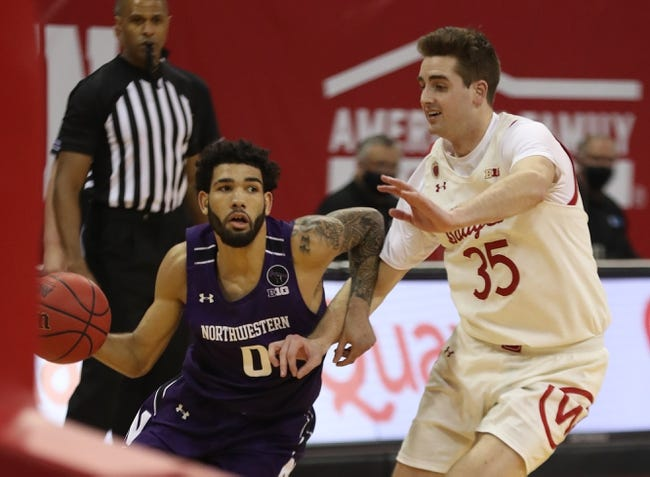 Wisconsin at Northwestern: 2/21/21 College Basketball Pick and Predictions