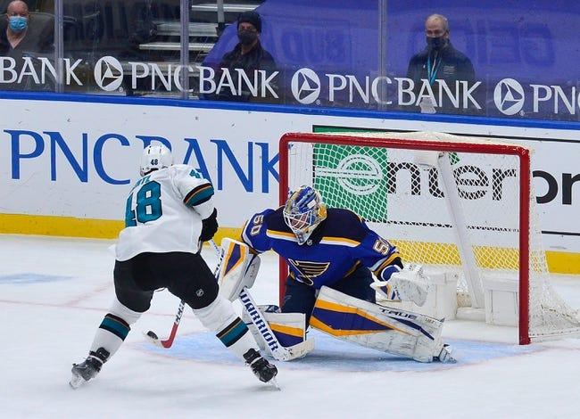 St. Louis Blues vs San Jose Sharks NHL Picks, Odds, Predictions 2/18/21