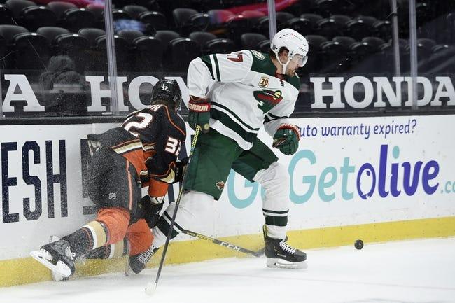 Anaheim Ducks vs Minnesota Wild NHL Picks, Odds, Predictions 2/18/21