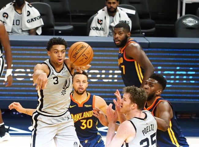 San Antonio Spurs vs Golden State Warriors NBA Picks, Odds, Predictions 2/8/21