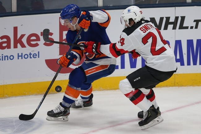 New York Islanders at New Jersey Devils - 1/24/21 NHL Picks and Prediction